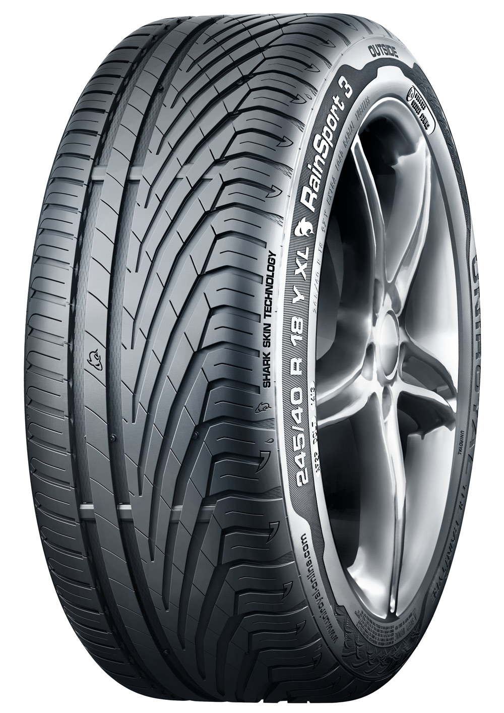 245/50 R18  RAINSPORT 3 SSR 100Y