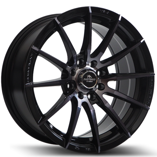 Forzza Atom 7X15 4X100/108 ET25 73,1 Black Magic Machined